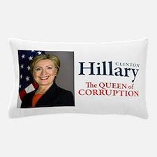 HILLARY THE QUEEN Pillow Case