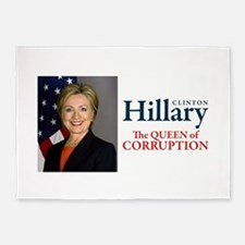 HILLARY THE QUEEN 5'x7'Area Rug