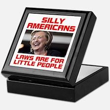 HILLARY LITTLE PEOPLE Keepsake Box