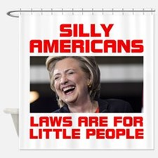 HILLARY LITTLE PEOPLE Shower Curtain