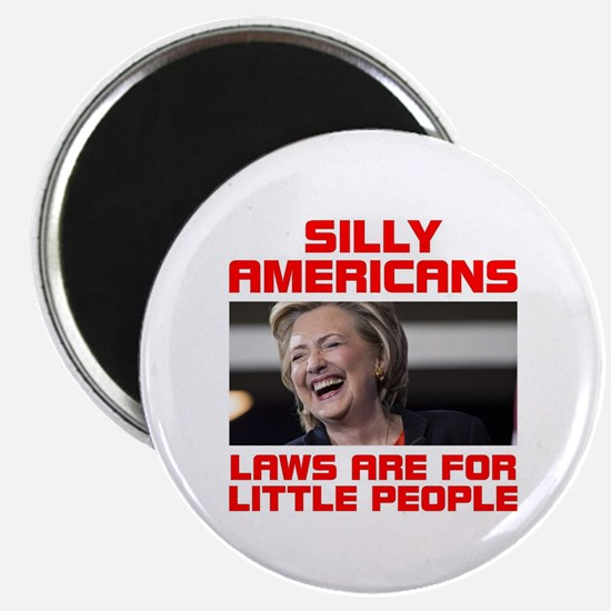 HILLARY LITTLE PEOPLE Magnet