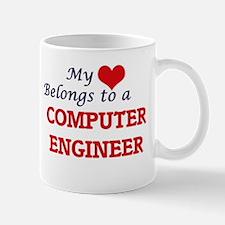 My heart belongs to a Computer Engineer Mugs
