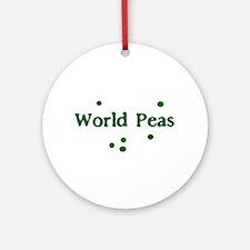 World Peas Keepsake (Round)