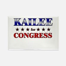 KAILEE for congress Rectangle Magnet