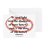 Duty of the Artist Greeting Cards (Pk of 10)