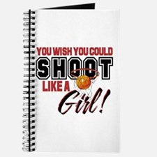 Basketball - Shoot Like a Girl Journal