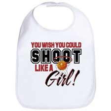 Basketball - Shoot Like a Girl Bib