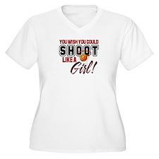 Basketball - Shoot Like a Girl T-Shirt