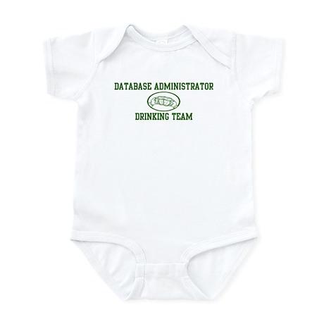 Database Administrator Drinki Infant Bodysuit