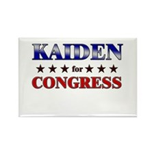 KAIDEN for congress Rectangle Magnet