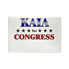 KAIA for congress Rectangle Magnet
