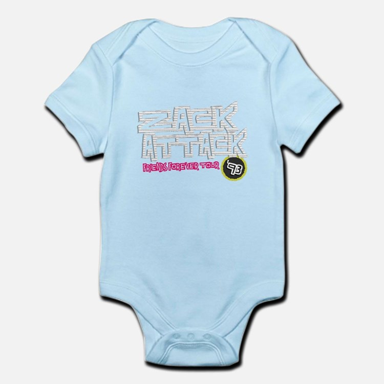 Zack Attack 93 Pink / Lined Paper Body Suit