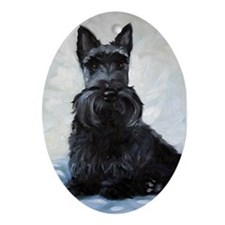 Scottish Terrier DOG Oval Ornament