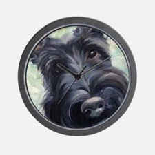 Scottie Scottish Terrier DOG Wall Clock