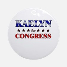 KAELYN for congress Ornament (Round)