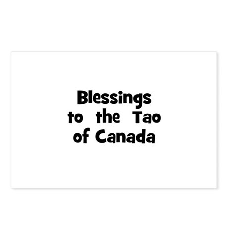 Blessings to the Tao of Ca Postcards (Package o