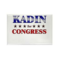 KADIN for congress Rectangle Magnet