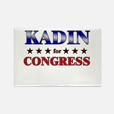 KADIN for congress Rectangle Magnet