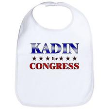 KADIN for congress Bib