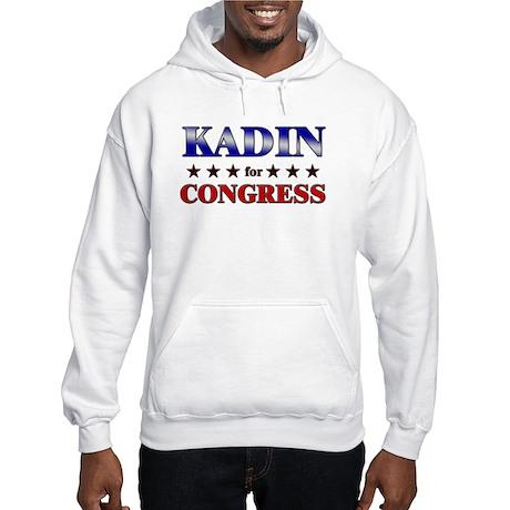 KADIN for congress Hooded Sweatshirt
