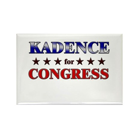 KADENCE for congress Rectangle Magnet (10 pack)