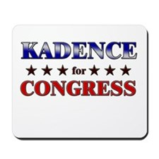 KADENCE for congress Mousepad