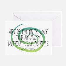 Run Away Artist Greeting Cards (Pk of 10)
