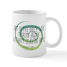 Run Away Artist Mug