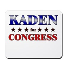 KADEN for congress Mousepad