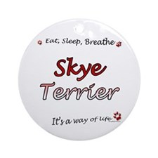 Skye Breathe Ornament (Round)