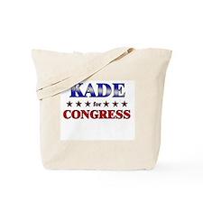 KADE for congress Tote Bag
