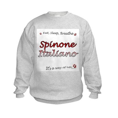 Spinone Breathe Kids Sweatshirt