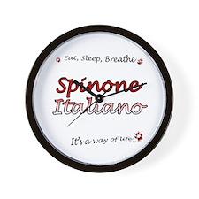 Spinone Breathe Wall Clock
