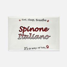 Spinone Breathe Rectangle Magnet