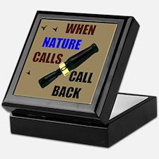 NATURE CALLS Keepsake Box