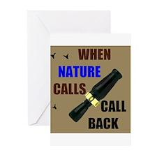NATURE CALLS Greeting Cards (Pk of 20)