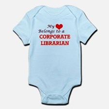 My heart belongs to a Corporate Libraria Body Suit