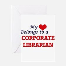 My heart belongs to a Corporate Lib Greeting Cards