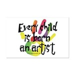 Every Child is an Artist Mini Poster Print