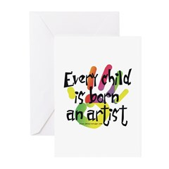 Every Child is an Artist Greeting Cards (Pk of 10)