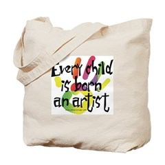 Every Child is an Artist Tote Bag