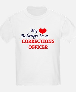 My heart belongs to a Corrections Officer T-Shirt