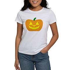 Smiling Pumpkin Halloween Tee