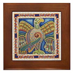 Celtic Design Framed Tile