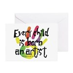 Every Child is an Artist Greeting Cards (Pk of 20)