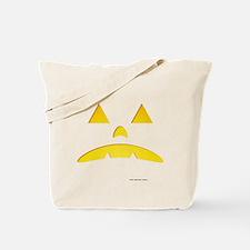 Angry Pumpkin Halloween Tote Bag
