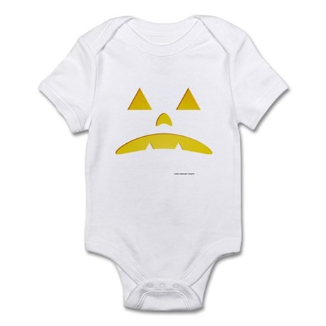 Angry Pumpkin Halloween Infant Bodysuit