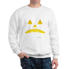 Angry Pumpkin Halloween Sweatshirt