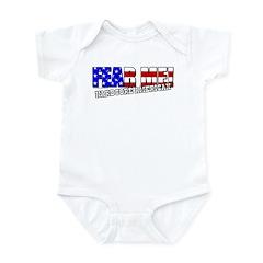 Fear Me! Hardcore American Infant Bodysuit