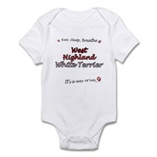 Westie Breathe Onesie